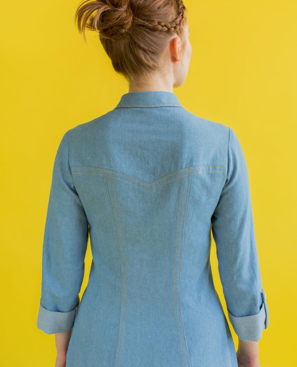 Rosa shirt sewing pattern